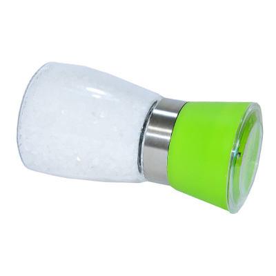 Tuz Karabiber Cam Değirmeni Yeşil + Çankırı Granül Çakıl Doğal Kaya Tuzu 200 Gr