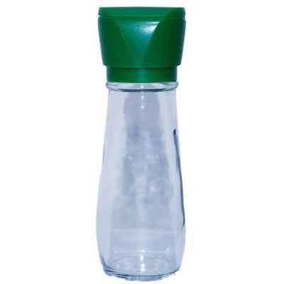 Tuz Karabiber Değirmeni Yeşil + Himalaya Çakıl Tuz Beyaz 250 Gr