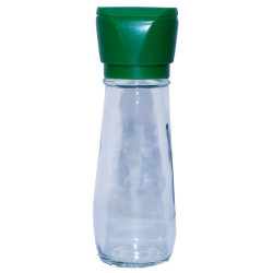 Tuz Karabiber Değirmeni Yeşil + Himalaya Çakıl Tuz Pembe 250 Gr - Thumbnail