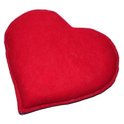 Tuz Yastığı Kalp Desenli Mor - Kırmızı 2-3Kg - Thumbnail