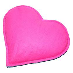 Tuz Yastığı Kalp Desenli Yeşil - Pembe 2-3Kg - Thumbnail