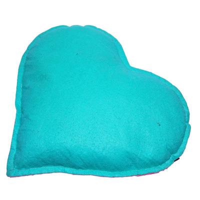 Tuz Yastığı Kalp Desenli Yeşil - Pembe 2-3Kg