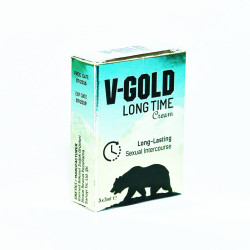 V-Gold - Karanfilli Bitkisel For Men Krem 3ML X 5li Görseli