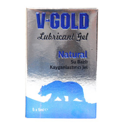 V-Gold - Kayganlaştırıcı Jel Natural 5 ML X 5Li Görseli