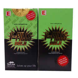 V-Pills - VPills Gold Bitkisel 60 Kapsül 2Kutu Görseli