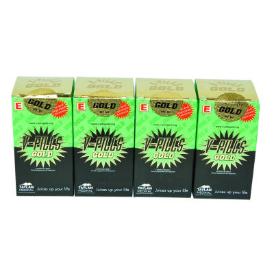 VPills Gold Bitkisel 60 Kapsül 4Kutu