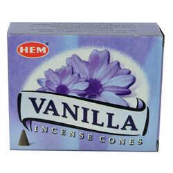 Vanilya Kokulu 10 Konik Tütsü - Vanilla - Thumbnail