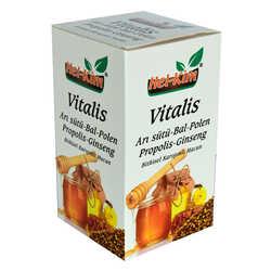 Vitalis Arı Sütü Bal Polen Propolis Ginsengli Bitkisel Macunnu 780 Gr - Thumbnail