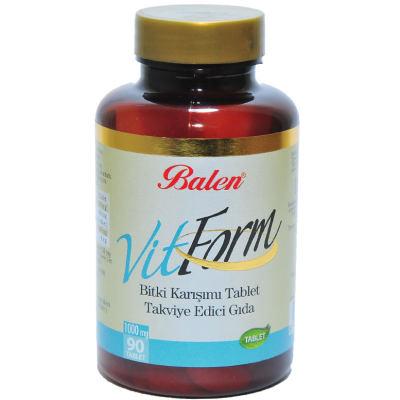 VitForm Bitki Karışımı 90 Tablet