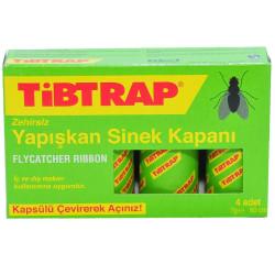 Tibtrap - Yapışkan Sinek Kapanı 4 Ad (1)