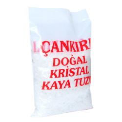 Yemeklik Doğal Kristal Kaya Tuzu Granül Çakıl Çankırı Beyaz 1000 Gr - Thumbnail