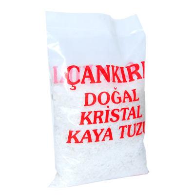 Yemeklik Doğal Kristal Kaya Tuzu Granül Çakıl Çankırı Beyaz 1000 Gr