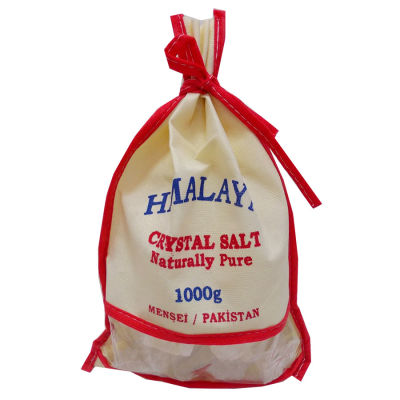 Yemeklik Himalaya Kristal Kaya Tuzu 1000 Gr Bez Çuval
