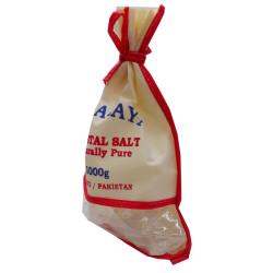 LokmanAVM - Yemeklik Himalaya Kristal Kaya Tuzu 1000 Gr Bez Çuval Görseli