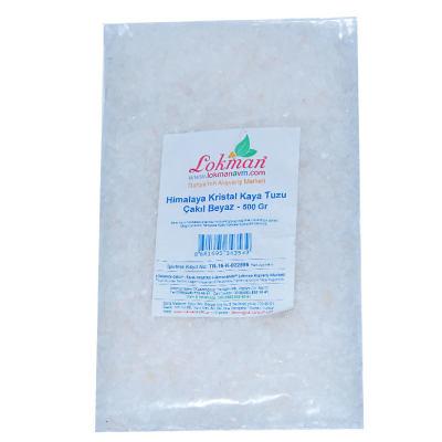 Yemeklik Himalaya Kristal Kaya Tuzu Çakıl Beyaz 500 Gr