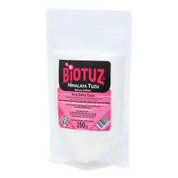 Biotuz - Yemeklik Himalaya Kristal Öğütülmüş Kaya Tuzu Beyaz 250 Gr (1)
