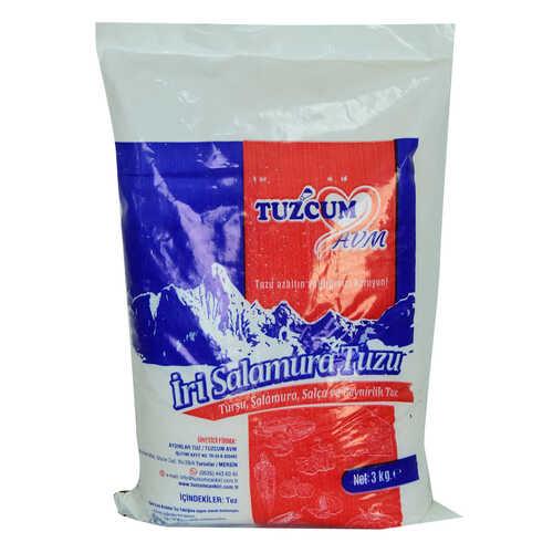 Yemeklik Turşu Salamura Salça ve Peynirlik Granül Çakıl Sofra Tuzu 3000 Gr
