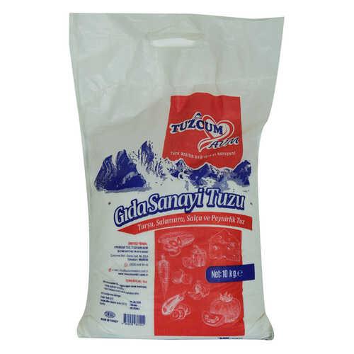 Yemeklik Turşu Salamura Salça ve Peynirlik Öğütülmüş Gıda Sanayi Tuzu 10.000 Gr