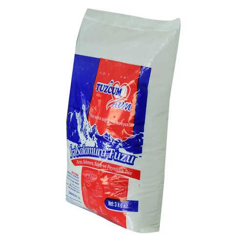 Yemeklik Turşu Salamura Salça ve Peynirlik Öğütülmüş Sofra Tuzu 3000 Gr
