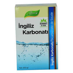 Yenilebilir İngiliz Karbonatı Bicarbonate De Soude 200 Gr - Thumbnail