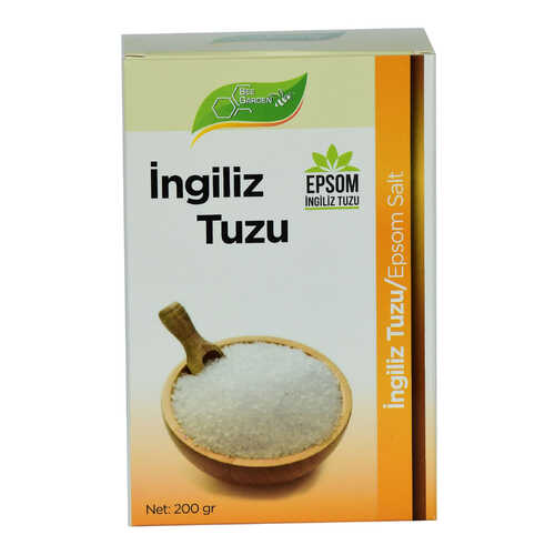 Yenilebilir İngiliz Tuzu Epsom Salt 200 Gr