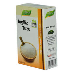 Bee Garden - Yenilebilir İngiliz Tuzu Epsom Salt 200 Gr (1)