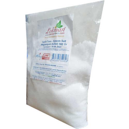 Yenilebilir İngiliz Tuzu Epsom Salt Magzenyum Sülfat 500 Gr