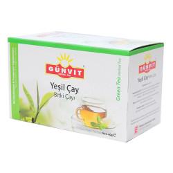 Günvit - Yeşil Çay Bitki Çayı 20 Süzen Poşet (1)