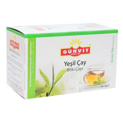 Yeşil Çay Bitki Çayı 20 Süzen Poşet