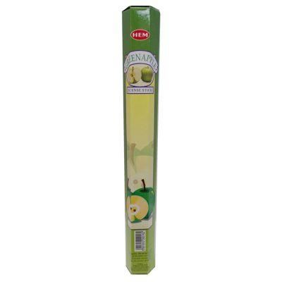 Yeşil Elma Kokulu 20 Çubuk Tütsü - Green Apple