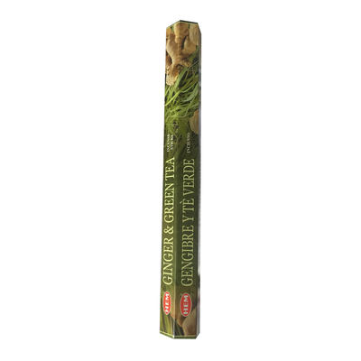 Zencefil Yeşilçay Kokulu 20 Çubuk Tütsü - Ginger Green Tea