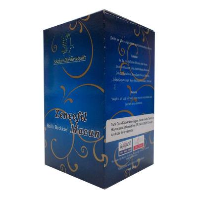 Zencefilli Ballı Bitkisel Karışım Cam Kavanoz 450 Gr