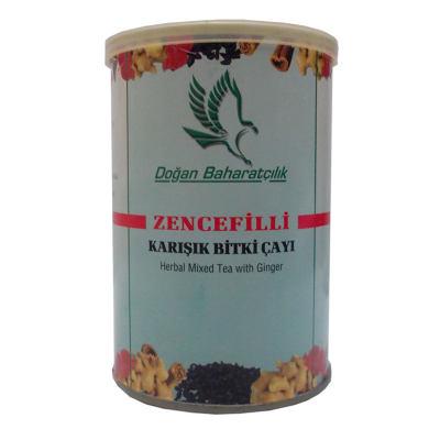 Zencefilli Karışık Bitkisel Çay 100Gr Tnk