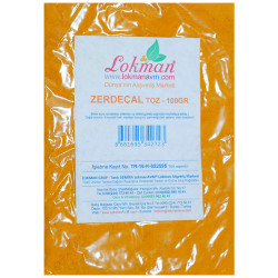 LokmanAVM - Zerdeçal Toz 100Gr Pkt (1)